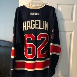 Authentic Carl Hagelin New York Rangers Jersey
